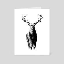 deer - Art Card by Haryo Yudho Adi Nugroho
