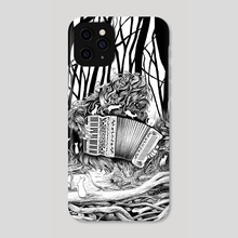 Accordeon - Phone Case by Marie-Claire Redon