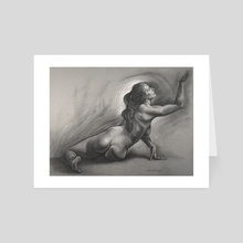 Lauren VII - Art Card by Dave Kobrenski