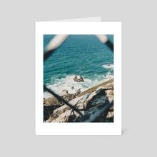 Rocky Seaside. - Art Card by Bryce Bowlin