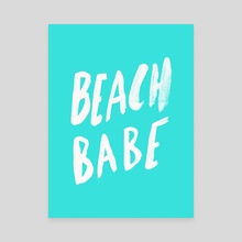 Beach Babe - Canvas by Leah Flores