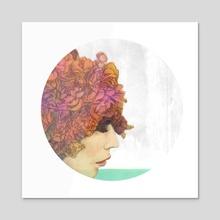 Saudade - Acrylic by Rachael Ibanez