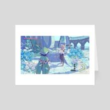 Mondstadt9 - Art Card by Fortisselle