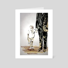 Dependant, not left behind. - Art Card by HOHLBAUM.ART