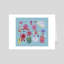 KIRBY! - Art Card by Plastiboo