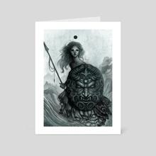 Shield - Art Card by Caroline Jamhour