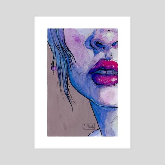 Lips by Glummingbird