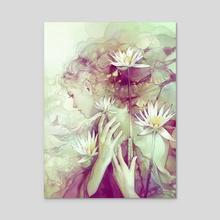 Pond - Acrylic by Anna Dittmann