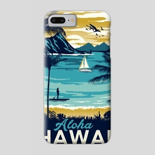 aloha hawaii - Phone Case by matt schnepf