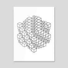 Box Box Black - Acrylic by Deli Bobs
