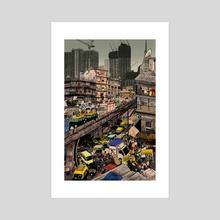 Mumbai - Acrylic by Wrinkle Comics