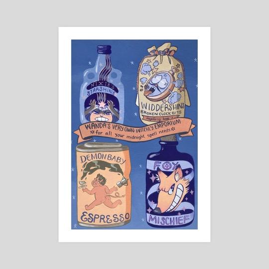 Wanda's Very Own Midnight Spell Needs II by Victoria V Nunley