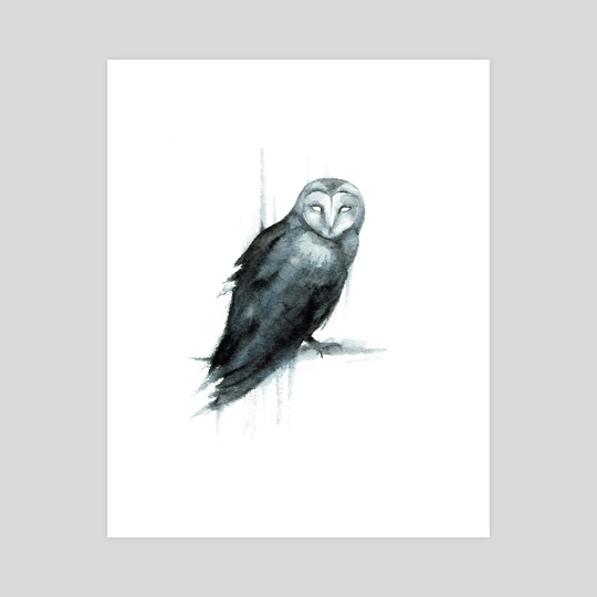 Owl Spirit by Sarah Hawkinson