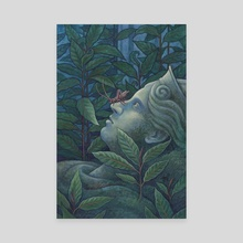 Passing Past - Canvas by Emma Lazauski