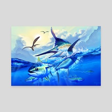 Marlin Chase - Canvas by John Sullivan