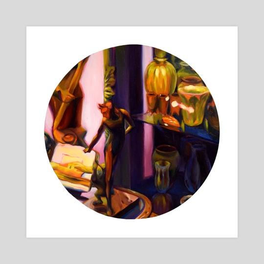 Devil of the Glass Cabinet by Martha Wirkijowski