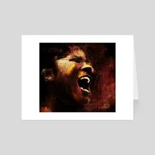The Songbird - Art Card by Howard Barry