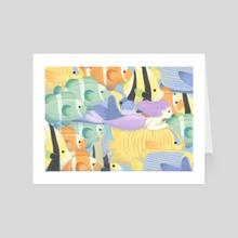 Tropical journey - Art Card by Janika Keskitalo // JK ミ★