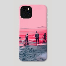 WHEN CAN I SEE YOU AGAIN - Phone Case by Jake Romano