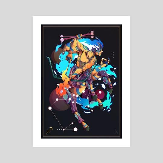 Sagittarius by Nathaniel Rueda