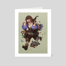 Halfling Thief - Art Card by Michelle Ang