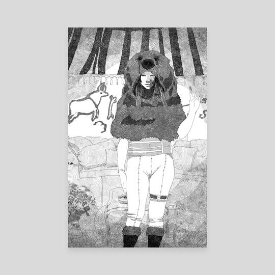 Bear Woman by Malcolm Maune