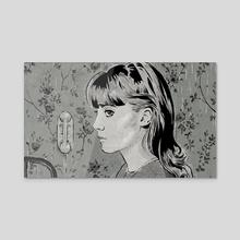 La Peau Douce - Acrylic by Ria Grix