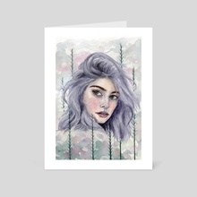 Hazel - Art Card by Zenia Wei