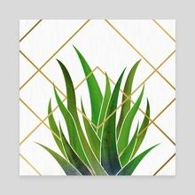 Modern Botanical - Canvas by Modern Tropical