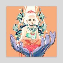 MUDRA - Canvas by Bad Az