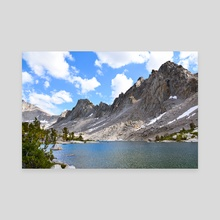 Kearsarge Pinnacles (Color) - Photography Fine Art Print for Sale - Canvas by Buuck Photography