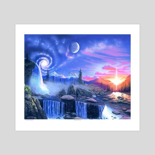 Celestial Sunset by Arthur Herring