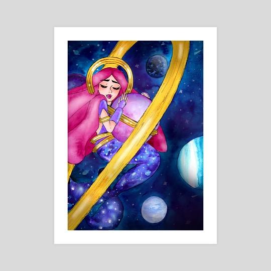 Galaxy Mermaid by Saphir And Rose
