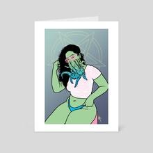 Penta - Art Card by Zio Adams