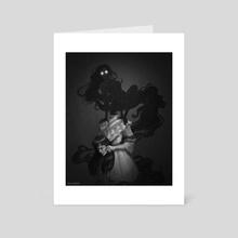 Unmasked - Art Card by Ashley Hankins