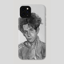Matty Healy of The 1975 - Phone Case by Brandon Marriott