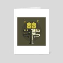 Lemongrab1 X Lemongrab2 - Art Card by saimen lee