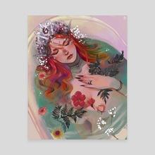 Mermaid - Canvas by Sui Leeah