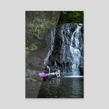 Mermaid Lagoon - Acrylic by Trisha May