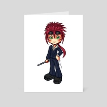 FFVII: Chibi Reno - Art Card by Ryumo