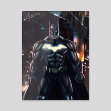 Bat - Acrylic by Dhaxina Dee