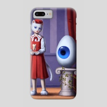 The egg - Phone Case by Luz Tapia