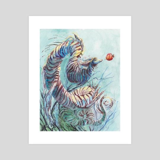 Sea Dragon by Tirzah Bauer