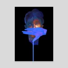 Blue blood - Canvas by Pablo Hurtado de Mendoza