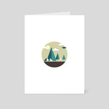 Greenscape - Art Card by Vectoria :  visually vectorized