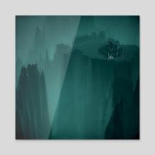 plummet - Acrylic by drewmadestuff