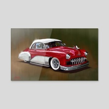 1949 Chevy - Acrylic by Candra Hope