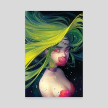 Voiceless Mermaid - Canvas by Mioree .