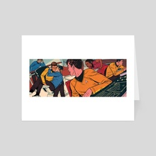 Star Trek Fanfiction - Art Card by Patrick  Leger