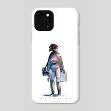 DAUGHTER 001_PHONE CASE - Phone Case by ROK-MO